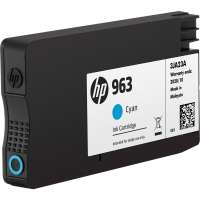 Консуматив HP 963 Cyan Original Ink Cartridge 3JA23AE