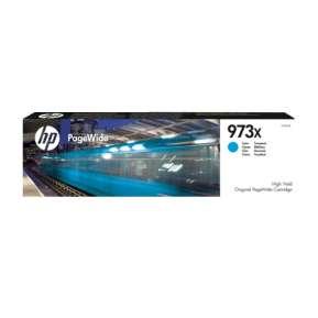 Консуматив HP 973X High Yield Cyan Original PageWide Cartridge