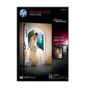 Хартия HP Premium Plus Glossy Photo Paper-20 sht/A3/297 x 420 mm