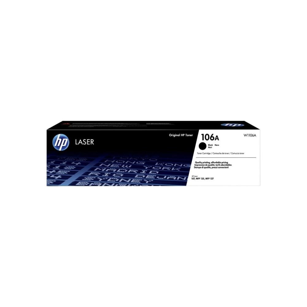 Консуматив HP 106A BlackOriginal Laser Toner Cartridge W1106A
