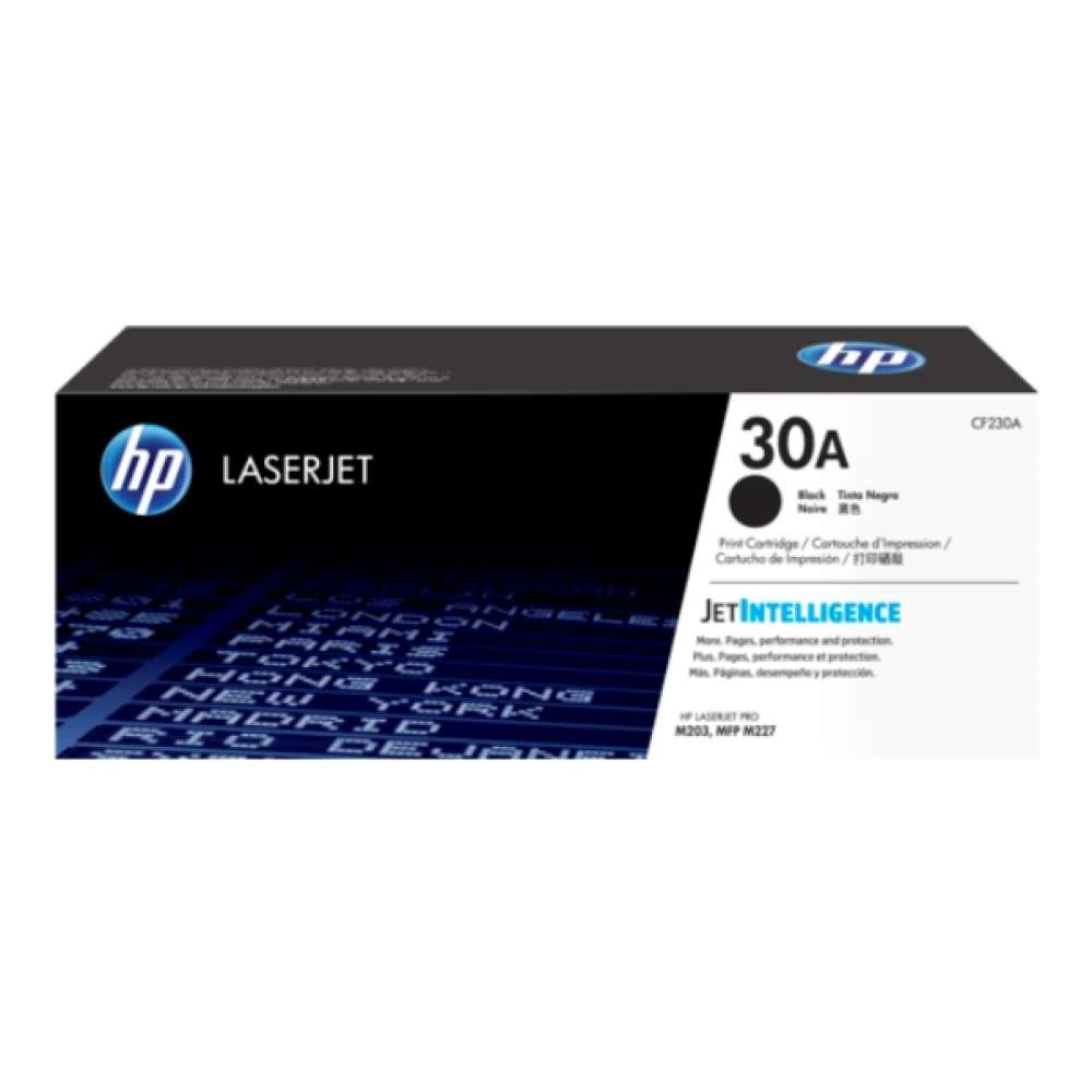 Консуматив HP 30A Black Original LaserJet Toner Cartridge (CF230A) CF230A