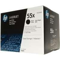 Консуматив HP 55X Black Dual Pack LaserJet Toner Cartridges CE255XD