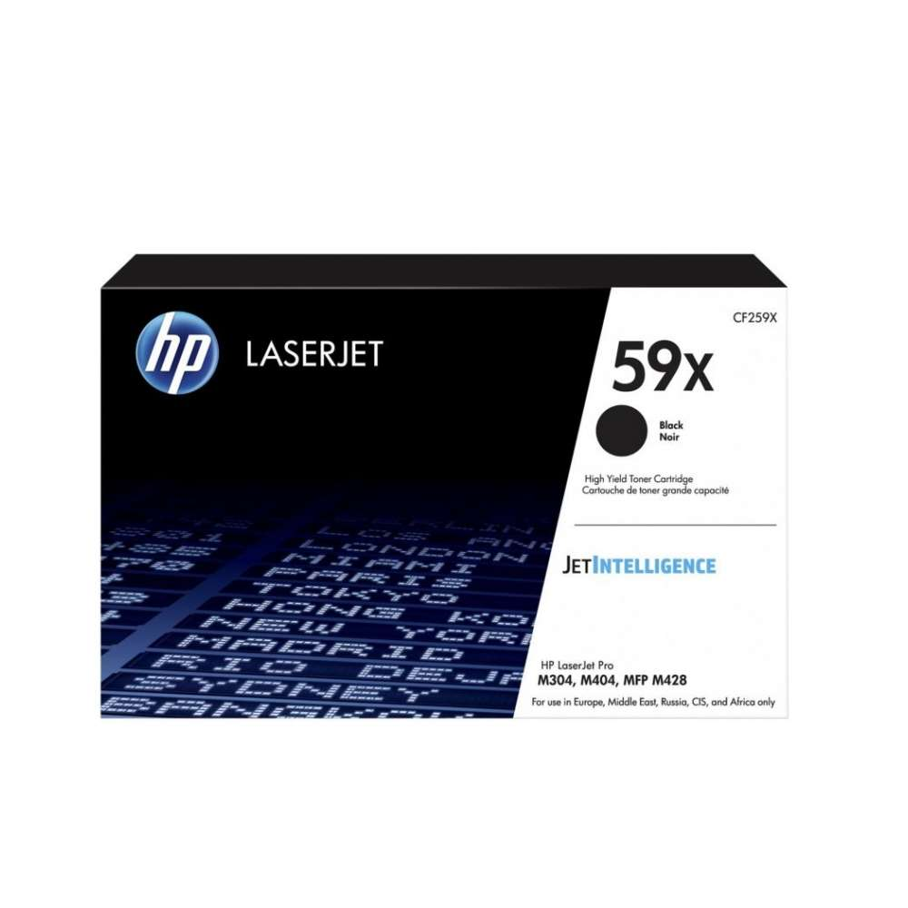 Консуматив HP 59X Black LaserJet Toner Cartridge CF259X