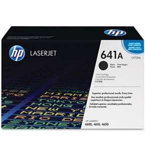Консуматив HP 641A Black LaserJet Toner Cartridge