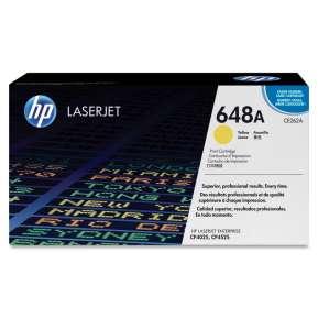 Консуматив HP 648A Yellow LaserJet Toner Cartridge