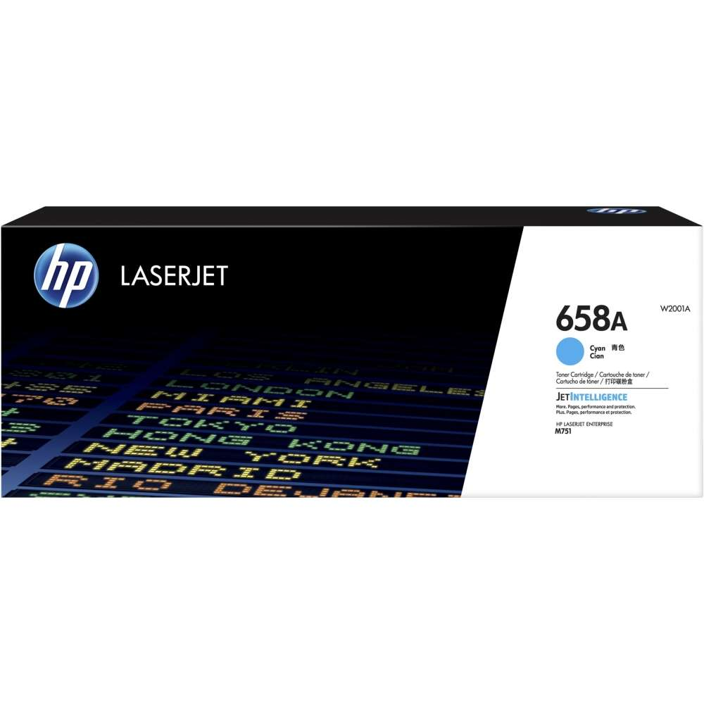 Консуматив HP 658A Cyan LaserJet Toner Cartridge W2001A