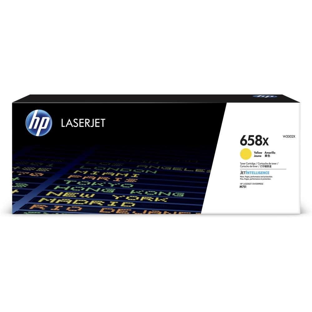 Консуматив HP 658X Yellow LaserJet Toner Cartridge W2002X