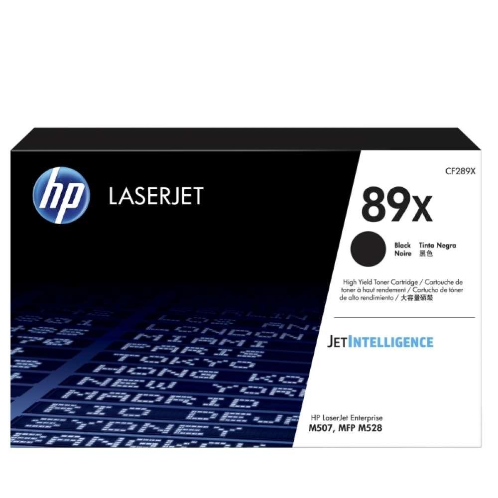 Консуматив HP 89X Black LaserJet Toner Cartridge CF289X