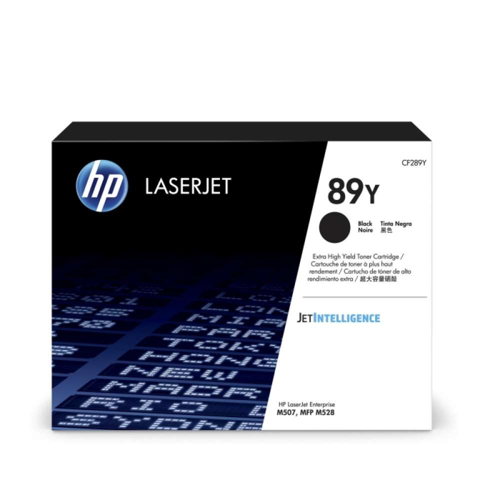 Консуматив HP 89Y Black LaserJet Toner Cartridge CF289Y