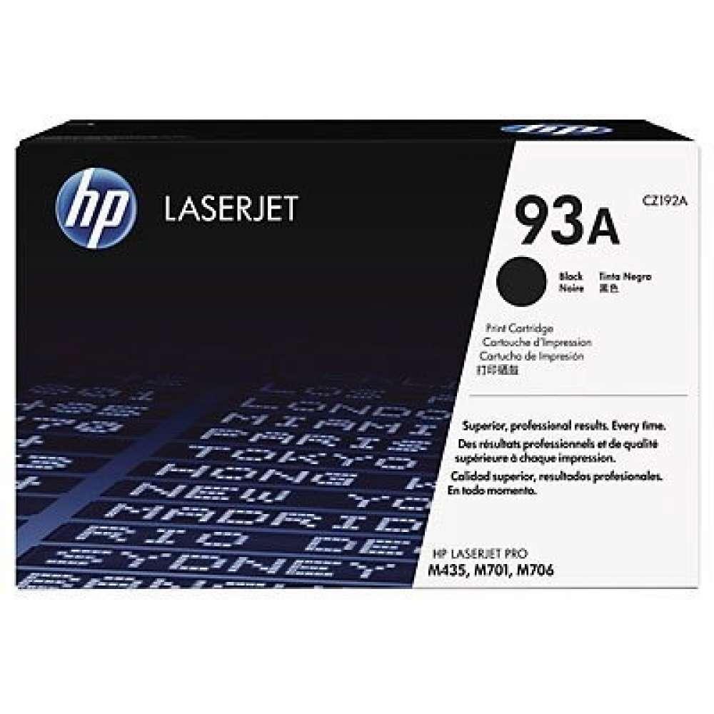 Консуматив HP 93A Black Original LaserJet Toner Cartridge CZ192A