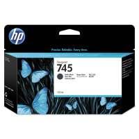 Консуматив HP 745 130-ml Matte Black Ink Cartridge F9J99A