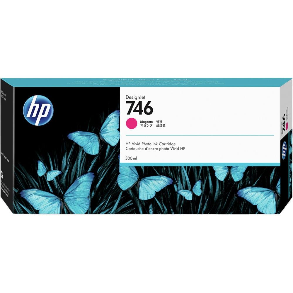 Консуматив HP 746 300-ml Magenta DesignJet Ink Cartridge P2V78A