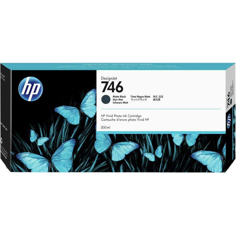 Консуматив HP 746 300-ml Matte Black DesignJet Ink Cartridge P2V83A