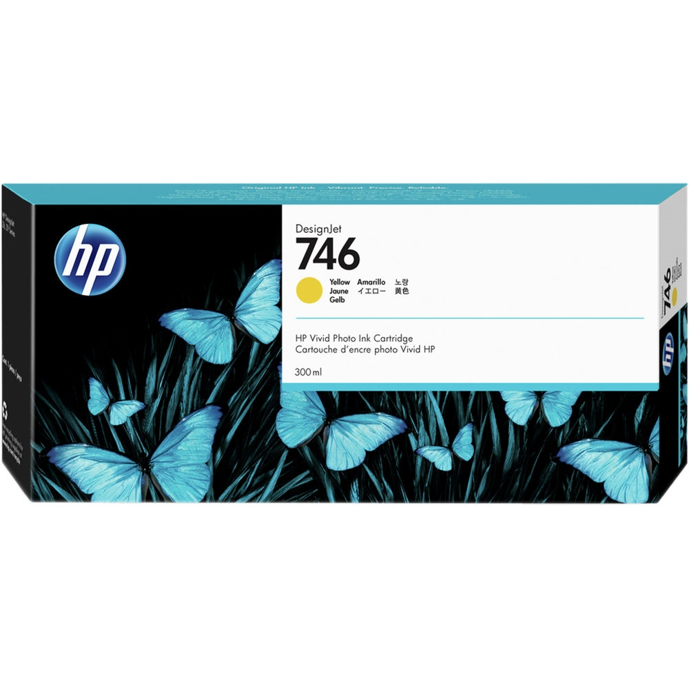 Консуматив HP 746 300-ml Yellow DesignJet Ink Cartridge P2V79A