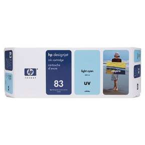 Консуматив HP 83 680-ml Light Cyan UV Ink Cartridge