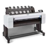 Мастилоструен плотер HP DesignJet T1600dr 36-in Printer 3EK12A