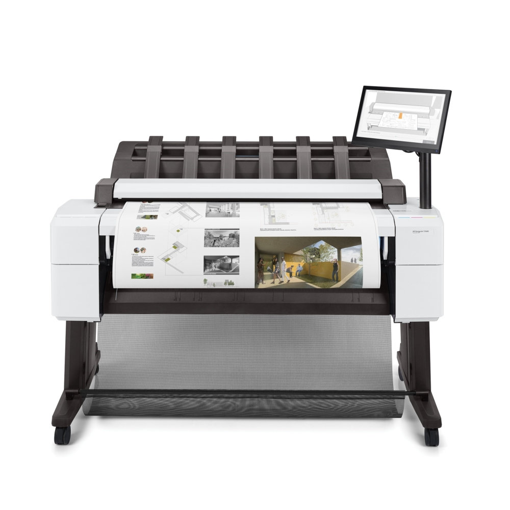Мастилоструен плотер HP DesignJet T2600dr 36in PS MFP Printer 3EK15A