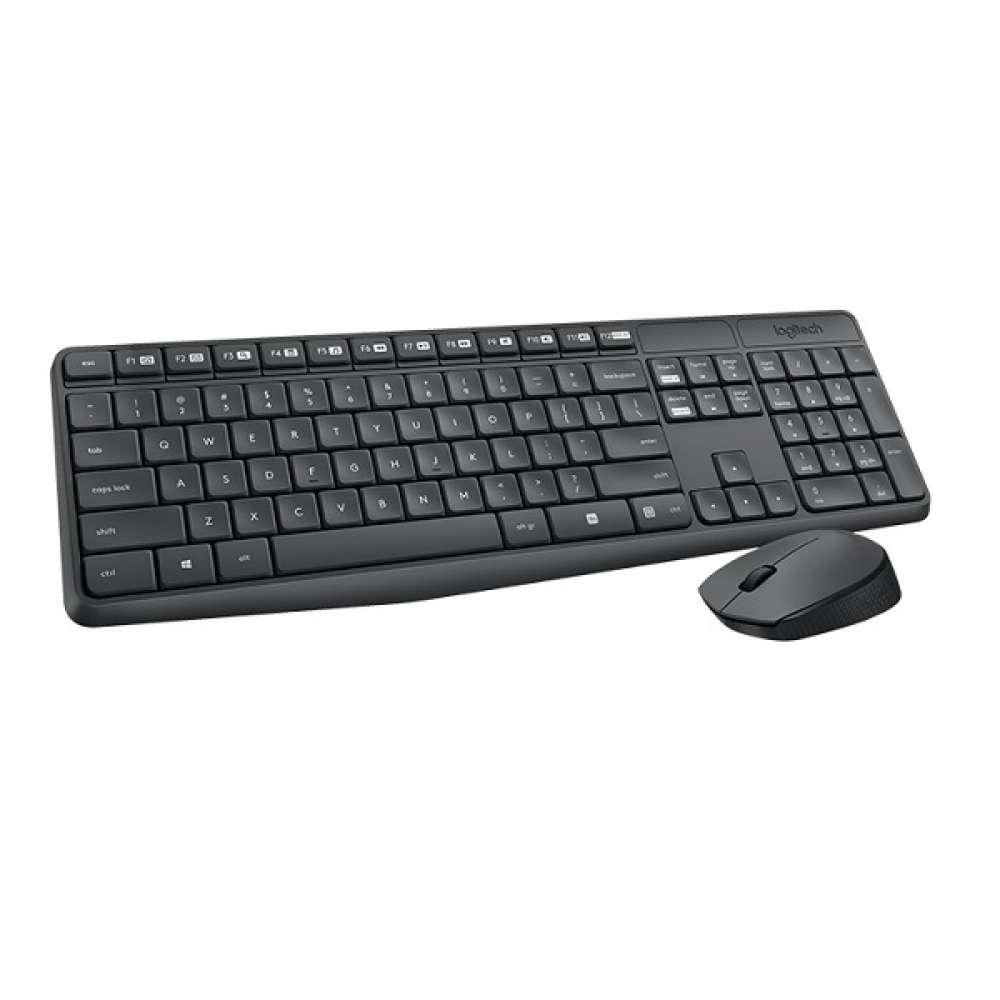 Комплект Logitech MK235 Wireless Keyboard and Mouse Combo 920-008024