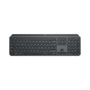 Клавиатура Logitech MX Keys Plus Advanced Wireless Illuminated Keyboard with Palm Rest - GRAPHITE - US INT'L - 2.4GHZ/BT - N/A - INTNL - WITH PALMREST