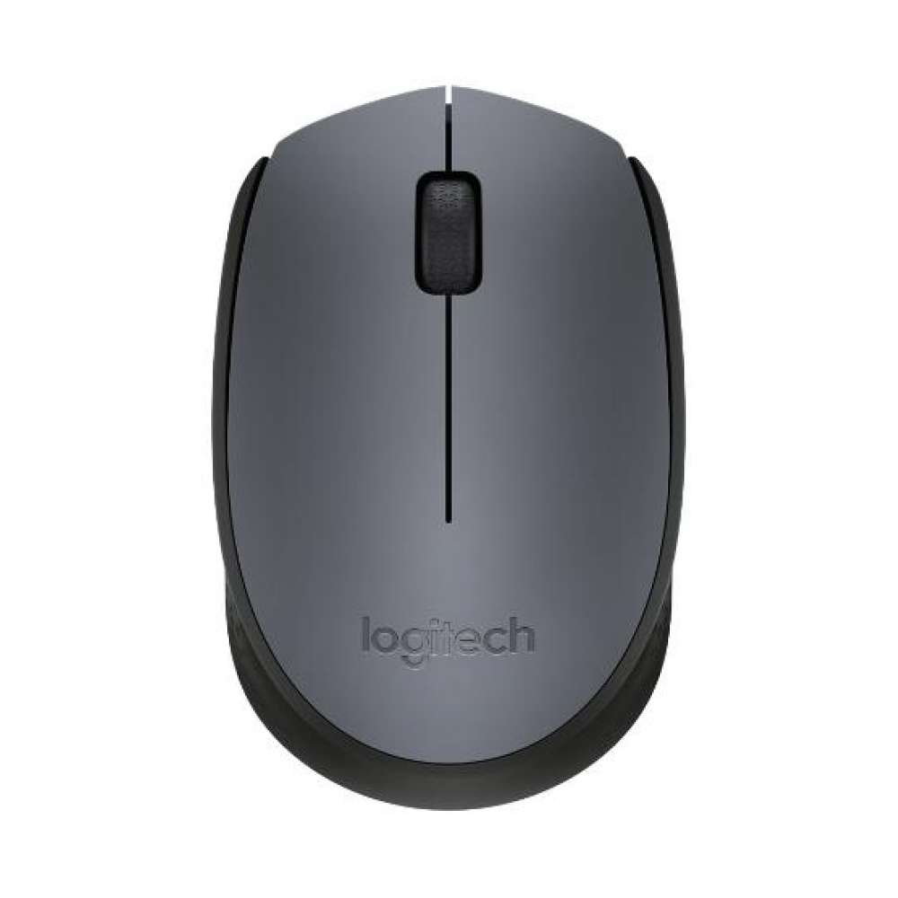 Мишка Logitech Wireless Mouse M170 Grey 910-004642