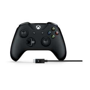 Джойстик Microsoft Xbox One Wired Controller + Cable for Windows