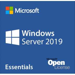 Програмен продукт с лицензен стикер Microsoft Windows Server Essentials 2019 x64 English 1pk DSP OEI DVD 1-2 CPU