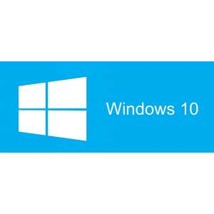 Програмен продукт с лицензен стикер Microsoft Windows Pro 10 64Bit Bulgarian 1pk DSP DVD