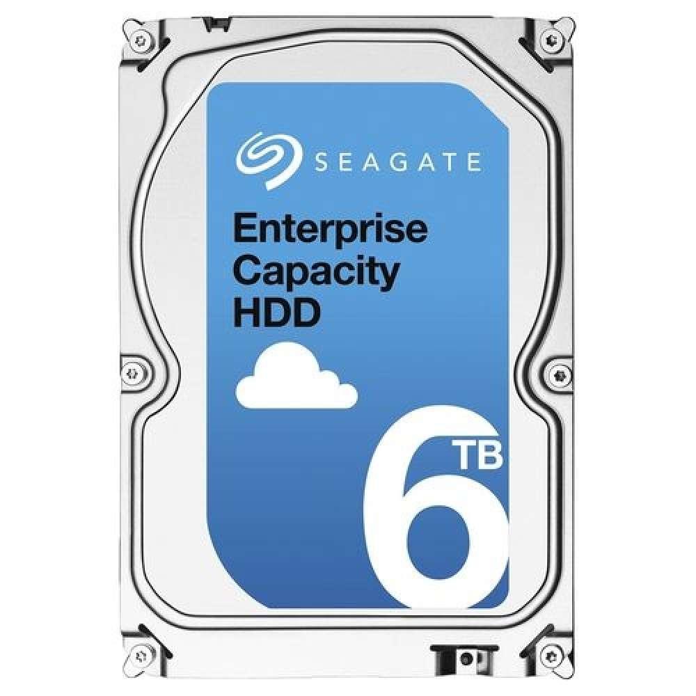 Твърд диск Seagate Enterprise Capacity 6TB 7200 RPM 512e SATA3 256MB Cache 3 ST6000NM0115