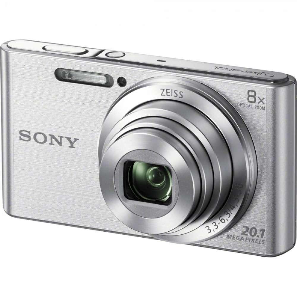 Цифров фотоапарат Sony Cyber Shot DSC-W830 silver DSCW830S.CE3