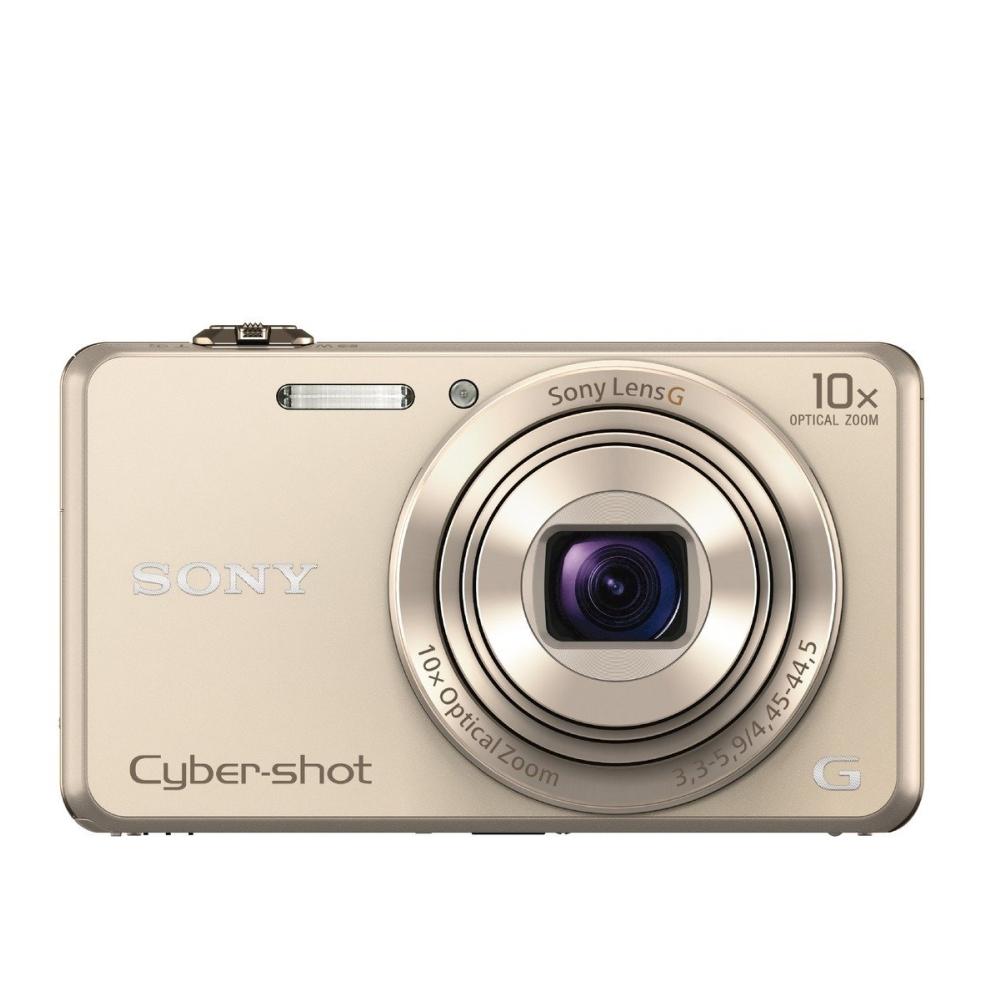 Цифров фотоапарат Sony Cyber Shot DSC-WX220 gold DSCWX220N.CE3