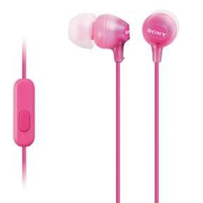 Слушалки Sony Headset MDR-EX15AP pink