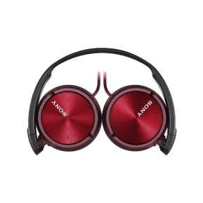 Слушалки Sony Headset MDR-ZX310 red