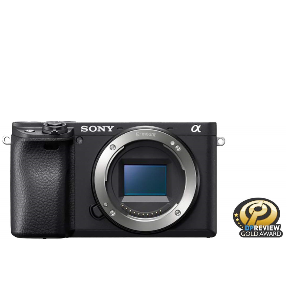 Цифров фотоапарат Sony Exmor APS-C HD ILCE-6400 body only ILCE6400B.CEC