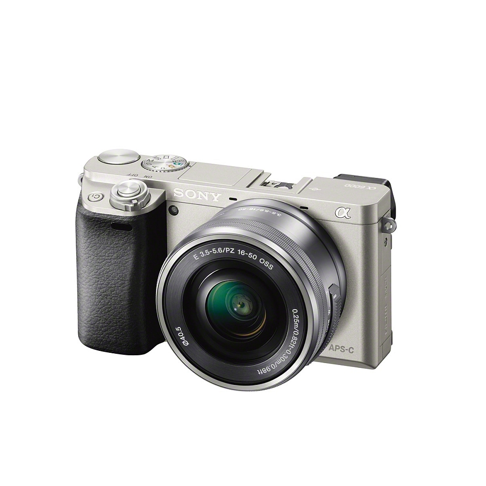 Цифров фотоапарат Sony Exmor APS HD ILCE-6000L silver ILCE6000LS.CEC