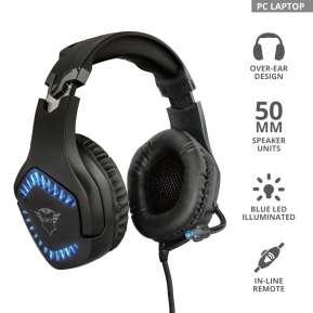 Слушалки TRUST GXT 460 Varzz Headset